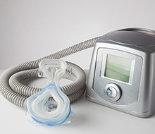 CPAP system and mask